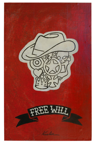 Free Will 2012 Painting