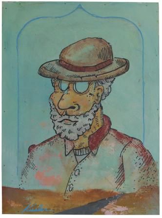 Gerald 2012 12x18 Painting
