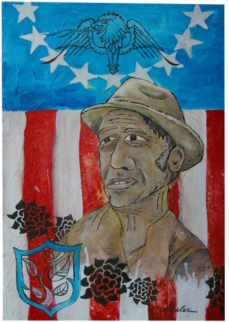 Sharecropper's Lament 2009 16 x 24