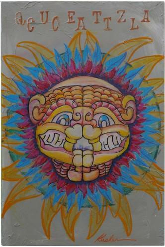 Quetzacoatl 2007 16 x 24