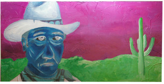 As Lonely As a Ghost 2010  Painting